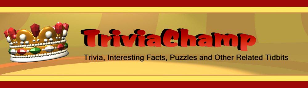Trivia Champ Blog