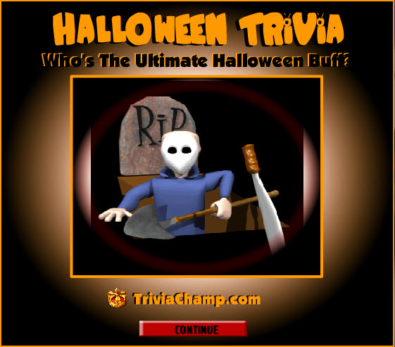 Printable Halloween Trivia Questions Answers & Games