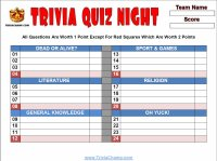 image regarding Food Trivia Questions and Answers Printable referred to as Printable Pub Quiz Sheets-Absolutely free Printable Trivia Queries