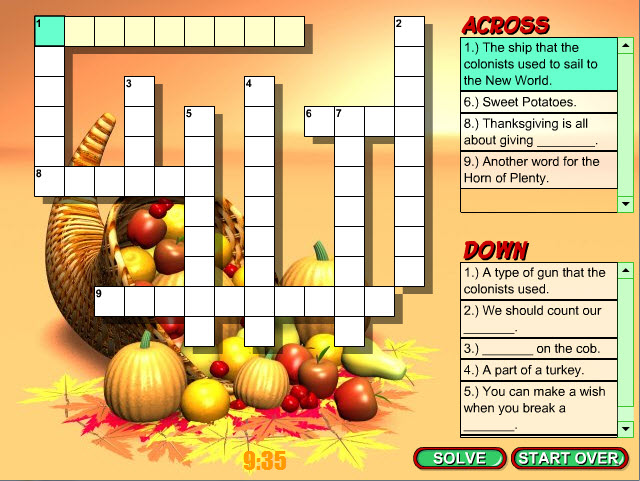 Printable Thanksgiving Trivia Questions Answers & Games